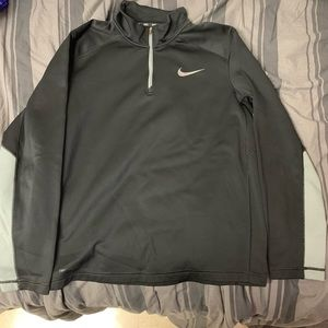 Nike Therma-Fit Black Quarter Zip Sweater